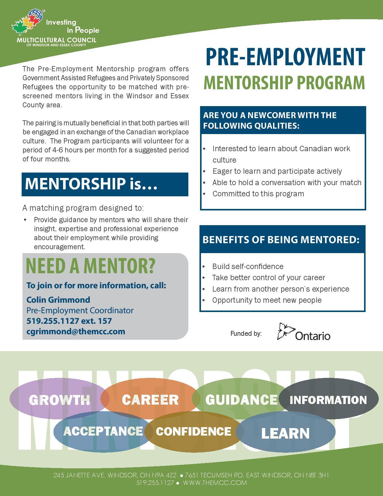 Need a mentor